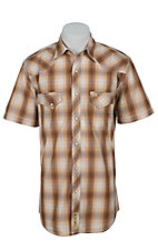 Larry Mahan Mens S/S Western Snap Shirt LM1421403