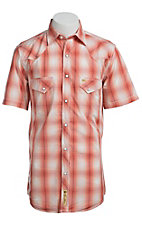 Larry Mahan Mens S/S Western Snap Shirt  LM1421404