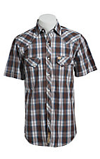 Larry Mahan Mens S/S Western Snap Shirt LM1421405