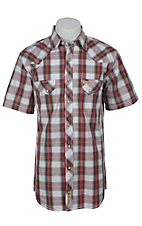 Larry Mahan Mens S/S Western Snap Shirt LM1421406