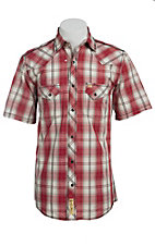 Larry Mahan Mens S/S Western Snap Shirt LM1421407