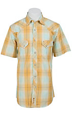 Larry Mahan Mens S/S Western Snap Shirt LM1421409