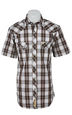 Larry Mahan Mens S/S Western Snap Shirt LM1421410