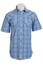 Larry Mahan Mens S/S Western Snap Shirt LM1421411