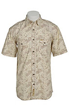 Larry Mahan Mens S/S Western Snap Shirt LM1421412
