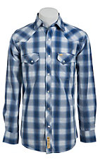 Larry Mahan Mens L/S Western Snap Shirt  LM1421413
