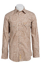 Larry Mahan Mens L/S Western Snap Shirt  LM1430201