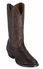 Larry Mahan® Men's Chocolate Aztec U-Toe Shoulder Western Boots