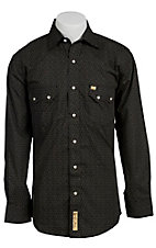 Larry Mahan Mens L/S Western Snap Shirt LMX1310206 - Big & Tall