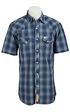 Larry Mahan Mens S/S Western Snap Shirt LMX1310703NS - Big and Tall