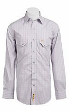 Larry Mahan Mens L/S Western Snap Shirt LMX1310725