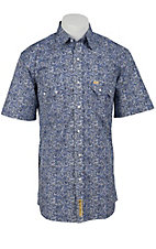 Larry Mahan Mens S/S Western Snap Shirt  LMX1320202