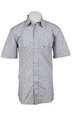 Larry Mahan Mens S/S Western Snap Shirt LMX1320203