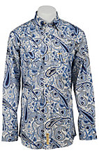 Larry Mahan Mens L/S Western Snap Shirt LMX1320702