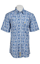 Larry Mahan Mens S/S Western Snap Shirt LMX1320704