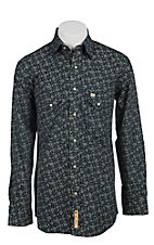 Larry Mahan Mens L/S Western Snap Shirt LMX1340706