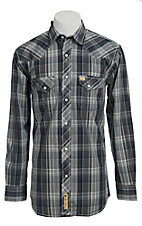 Larry Mahan Mens L/S Western Snap Shirt LMX1340709NS