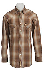 Larry Mahan Mens L/S Western Snap Shirt LMX1340712NS