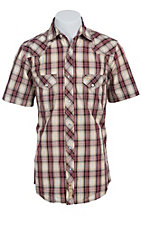 Larry Mahan Mens S/S Western Snap Shirt LMX1411101
