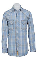 Larry Mahan Mens L/S Western Snap Shirt LMX1411104S- Big & Tall Sizes