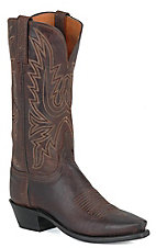 Lucchese® 1883 Ladies Chocolate Mad Dog Snip Toe Western Boots