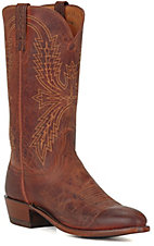 Lucchese® 1883™ Men's Peanut Brown Mad Dog R-Toe Western Boots