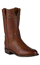 Lucchese® 1883™ Men's Cognac Burnished Ranch Hand Roper Boot