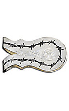 Montana Silversmiths® Silver Barbed Wire Money Clip