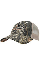 Justin Boots® Mossy Oak Camo with Tan Mesh Back Logo Cap
