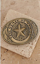 M&F Western Products® Matte Brass State of Texas Buckle