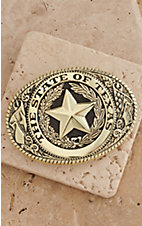 M&F Western Products® Brass State of Texas Buckle