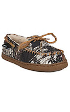 Justin® Kid's Mossy Oak Camo Moccasin Slipper by M&F®