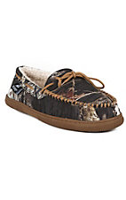 DBL Barrel Men's Mossy Oak Camo Moccasin Slipper by M&F