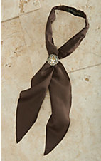 M&F® Apache Scarf Tie - Brown