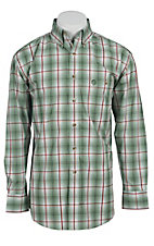 George Strait by Wrangler L/S Mens Check Shirt MGS007GX