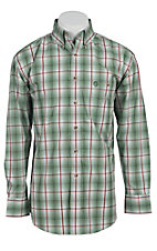 George Strait by Wrangler L/S Mens Check Shirt MGS007G