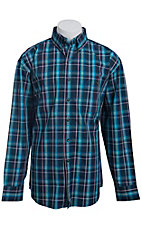George Strait by Wrangler L/S Mens Check Shirt MGS009B