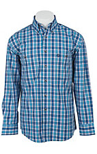 George Strait by Wrangler L/S Mens Check Shirt MGS011B