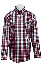 George Strait by Wrangler L/S Mens Check Shirt  MGS018RX