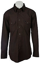 Wrangler® George Strait Troubadour™ Men's Long Sleeve Snap Shirt MGS02BN