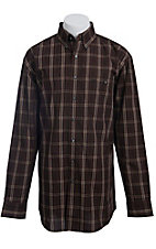 George Strait by Wrangler L/S Mens Plaid Shirt MGS030TX