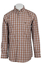 George Strait by Wrangler L/S Mens Check Shirt MGS035T