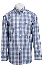 George Strait by Wrangler L/S Mens Plaid Shirt MGS19BM