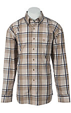 George Strait by Wrangler L/S Mens Plaid Shirt MGS29TM