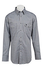 Wrangler George Strait Troubadour Men's Long Sleeve Snap Shirt