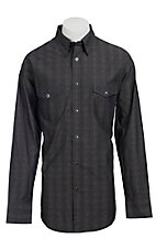 Wrangler� George Strait Troubadour? Men's Long Sleeve Snap Shirt MGS35CHX