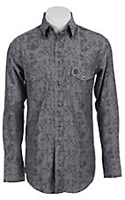 Wrangler George Strait Troubadour Men's Long Sleeve Snap Shirt MGS42GYX