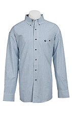 George Strait by Wrangler L/S Mens Plaid Shirt MGS45BM