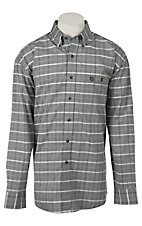 George Strait by Wrangler L/S Mens Plaid Shirt MGS49XM