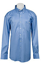 George Strait by Wrangler L/S Mens Solid Shirt  MGS60BLX